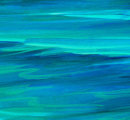 turquoise sea water  wave , illustration, background