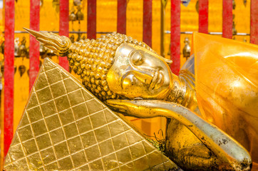 Reclining Buddha at Wat Phra That Doi Suthep