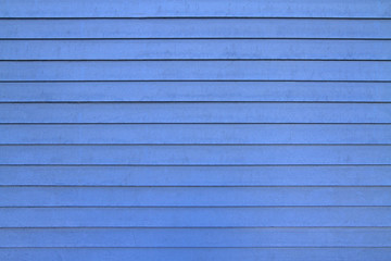 blue wooden boards