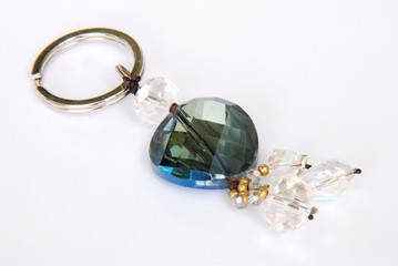 Crystal key chain for your secret key