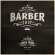 Vintage Barber Shop Badges - 61334824