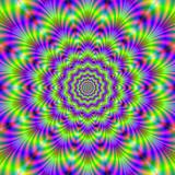 Neon Green Crinkle Cut Rings poster