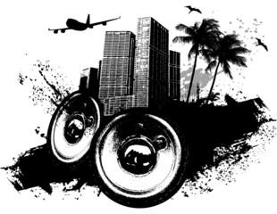 Grunge speaker city