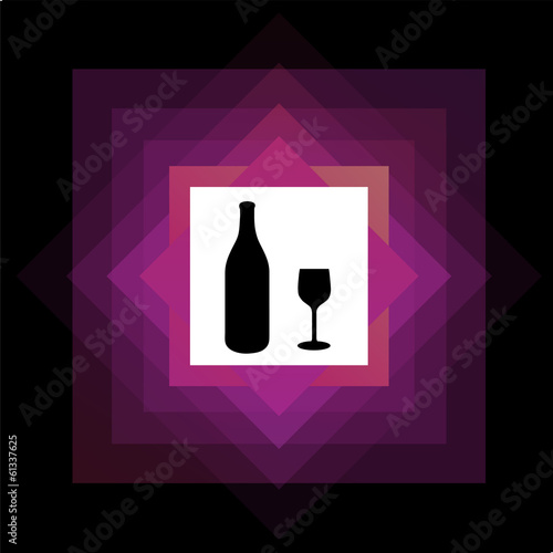 Alcoholic drink logo