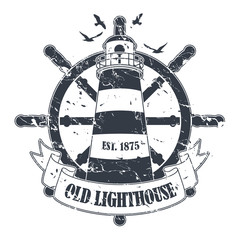 Stamp with a nautical theme