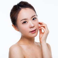 Asian woman beauty shot.
