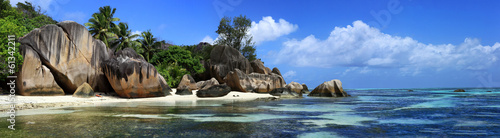 panorama des seychelles - 61342211