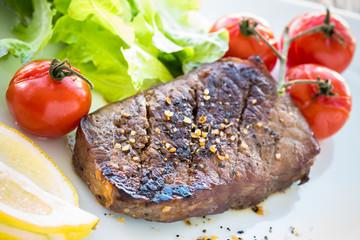 steack grillé de boeuf