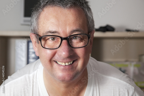 Portrait of a senior business man in casual clothes