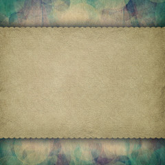 Double-layered grunge background template