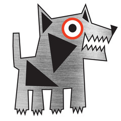 bad metal dog