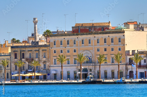 Panoramic view of Brindisi. Puglia. Italy.