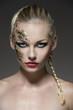 girl with original make-up