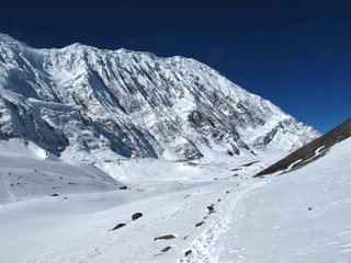Tilicho Peak and foot-path