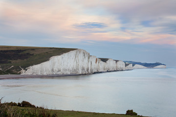 Seven Sisters, giant sea cliffs in East Sussex