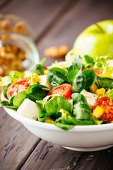 Green dieting salad