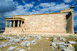 Erechtheion temple Acropolis in Athens