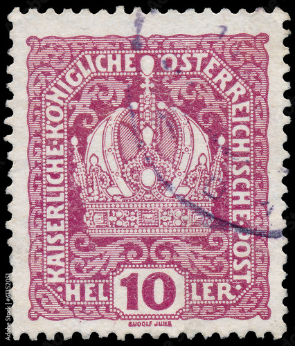 AUSTRIA - CIRCA 1916: A stamp printed in Austria, shows Austrian