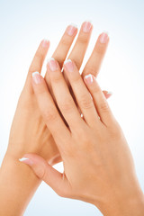 Female fingernails
