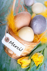 Easter Nest with Merci