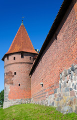 Malbork castle tower