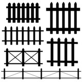 fence vector illustration