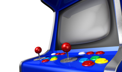 Arcade Machine Closeup
