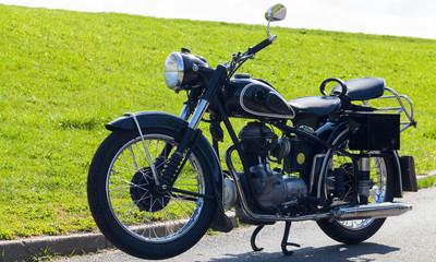 Motorrad Oldtimer Bike 2