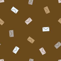 seamless background: envelope newsletter