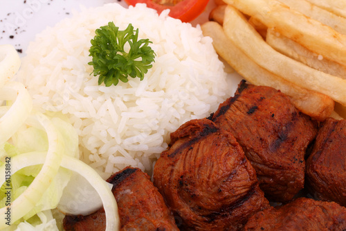 Kuzu Sis / Lamb with Rice