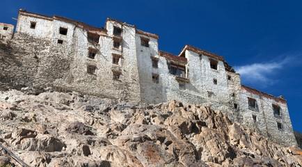 Karsha gompa - buddhist monastery in Zanskar valley - Ladakh