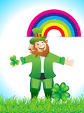 Leprechaun Cartoon With Clove