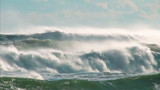 Ocean storm wind waves