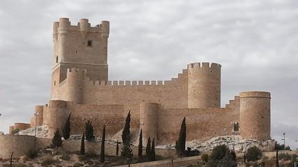 Villena medieval castle
