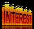 Interest concept.