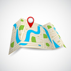 Road Map for GPS Application