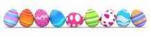 "Постер, картина, фотообои ""colorful easter eggs"""