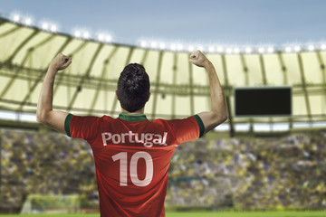 Fototapeta piłkarz Portugalski