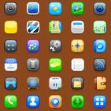 vector illustration of smartphone application icon