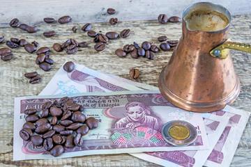 Kaffeebohnen aus Äthiopien