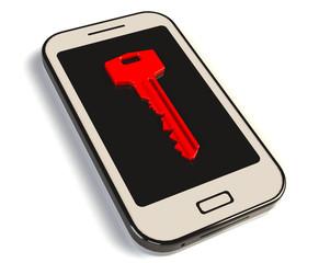 Handy Schlüssel