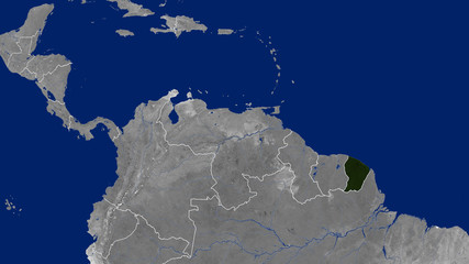 French Guiana - Day
