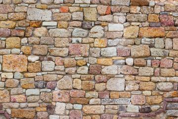 Brick fortress wall 2