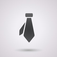 black necktie background