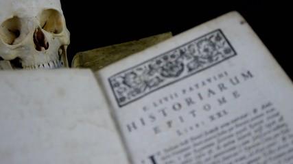 Buch, seiten, hintergrund scharf