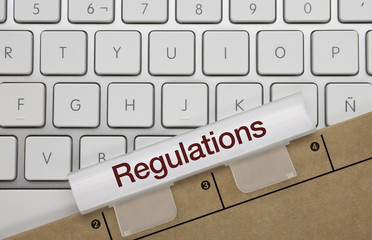 Regulations. keyboard