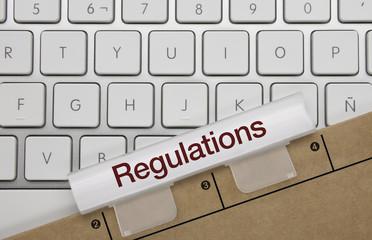 Regulations. keyboard