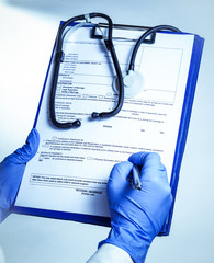 filling medical records