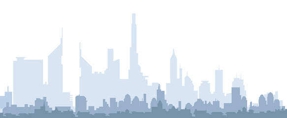 City skyline-vector