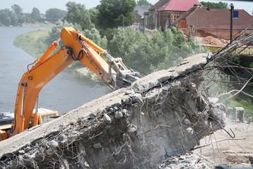 Construction and demolition work